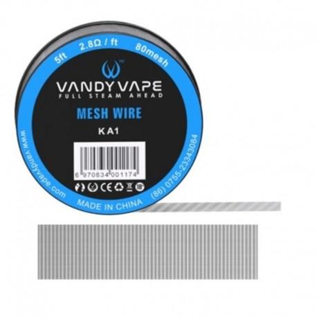 DIY - Tråd, Vat & Værktøj Vandy Vape Mesh Wire, Kanthal eclshop.dk