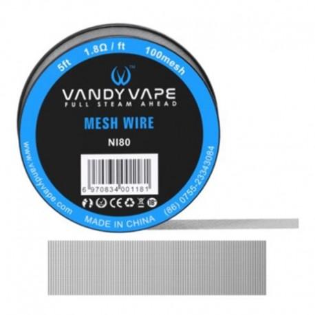 DIY - Tråd, Vat & Værktøj Vandy Vape Mesh Wire, N80 eclshop.dk