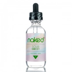 Naked 100 Naked 100 - Sour Sweet - 60ml./0mg. eclshop.dk