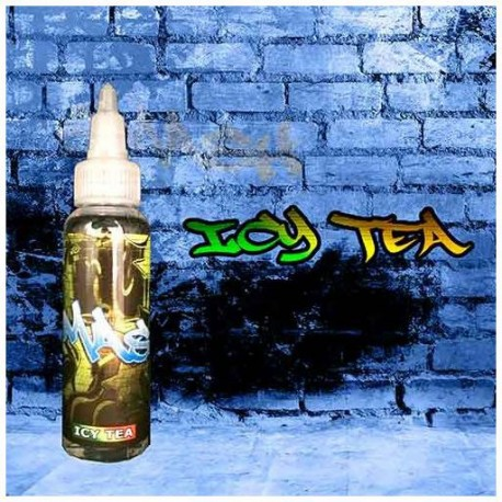 SMASH, Zombie, WOW, Gold & Bellevue by 7Sense SMASH Icy Tea 60ml. - 7Sense eclshop.dk