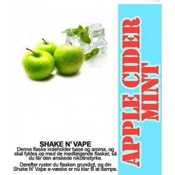 ECL Premium Selected Apple Cider Mint - ECL Blend 30ml. eclshop.dk