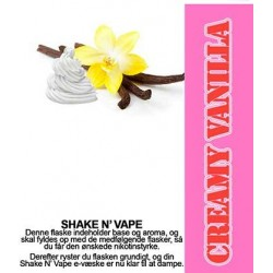 E-væske Creamy Vanilla - ECL Blend 30ml. eclshop.dk
