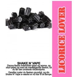 ECL Premium Selected Licorice Lover - ECL Blend 30ml. eclshop.dk