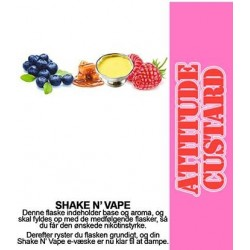 ECL Premium Selected Attitude Custard - ECL Blend 30ml. eclshop.dk