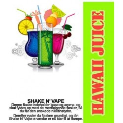 E-væske Hawaii Juice - ECL Blend 30ml. eclshop.dk