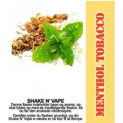 E-væske Menthol Tobacco - ECL Blend 30ml. eclshop.dk