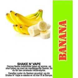 ECL Premium Selected Banan - ECL Blend 30ml. eclshop.dk