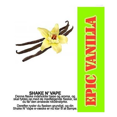 ECL Premium Selected Epic Vanilla - ECL Blend 30ml. eclshop.dk