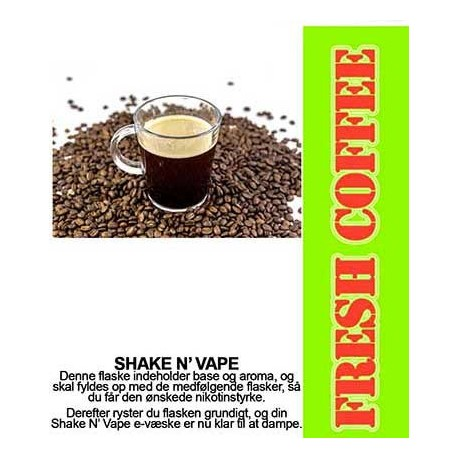 ECL Premium Selected Fresh Coffee - ECL Blend 30ml. eclshop.dk