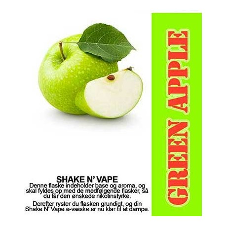 ECL Premium Selected Green Apple - ECL Blend 30ml. eclshop.dk