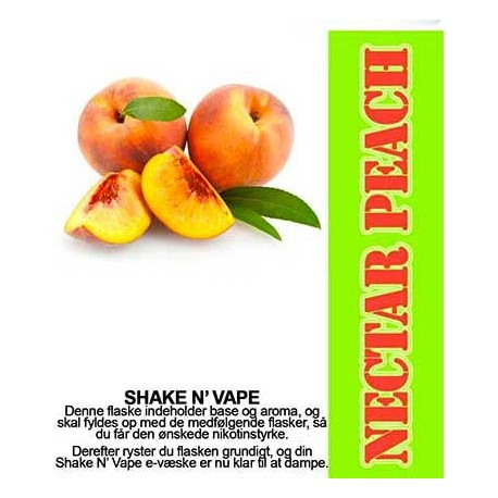ECL Premium Selected Nectar Peach - ECL Blend 30ml. eclshop.dk