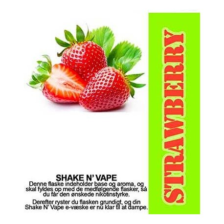 ECL Premium Selected Wild Strawberry - ECL Blend 30ml. eclshop.dk