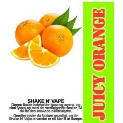 E-væske Juicy Orange - ECL Blend 30ml. eclshop.dk