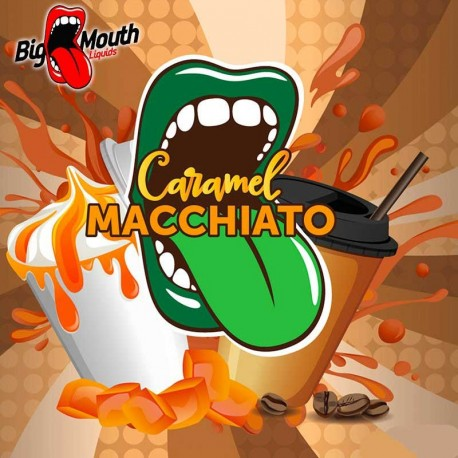 Big Mouth CLASSICAL - Caramel Macchiato - Big Mouth eclshop.dk