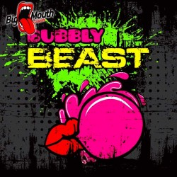 BEAST Range - Bubbly Beast - Big Mouth 60ml.