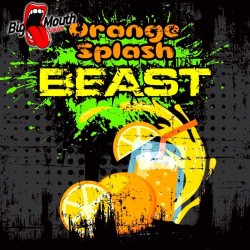 Big Mouth BEAST Range - Orange Splash Beast - Big Mouth 60ml. eclshop.dk