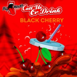 Big Mouth Call us or Drink - Black Cherry - Big Mouth 60ml. eclshop.dk