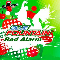 Big Mouth Blue Fountain - Red Alarm - Big Mouth 60ml. eclshop.dk