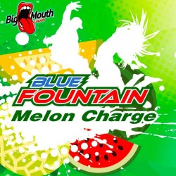 Big Mouth Blue Fountain - Melon Charge - Big Mouth 60ml. eclshop.dk