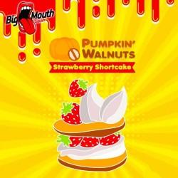 E-væske Pumpkin Walnuts - Strawberry Shortcake - Big Mouth 60ml. eclshop.dk
