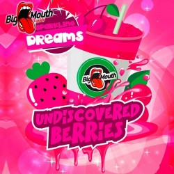 Big Mouth Sparkling Dreams - Undiscovered Berries - Big Mouth 60ml. eclshop.dk