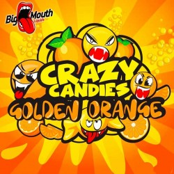 Big Mouth Crazy Candies - Golden Orange - Big Mouth 60ml. eclshop.dk