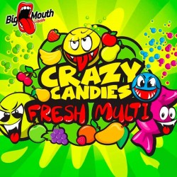 Big Mouth Crazy Candies - Fresh Multi - Big Mouth 60ml. eclshop.dk