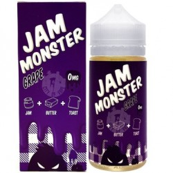 USA Premium Juice Grape BY JAM MONSTER 100ml./0mg. eclshop.dk