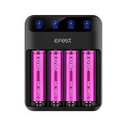 Opladere Efest LUSH Q4 Intelligent LED oplader eclshop.dk