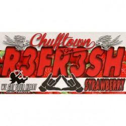 Chuff Town & Ohmen Chuff Town CPH Aroma -R3fr3sh Strawberry - 10ml. eclshop.dk