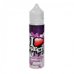 E-væske I VG Sweets - Blackcurrant Gummies - 60ml. eclshop.dk