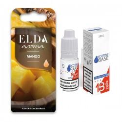 E-væske ELDA - Mango 11ml. kit eclshop.dk