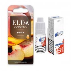 Elda e-liquids ELDA - Peach 11ml. kit eclshop.dk