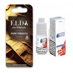 E-væske ELDA - Pure Tobacco 11ml. kit eclshop.dk