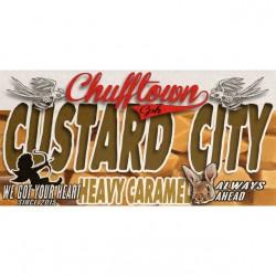 AROMA Chuff Town CPH Aroma - Custard City - 10ml. eclshop.dk