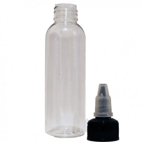 Flasker, Sprøjter & Pipetter 60ml. Twist Cap PET flaske eclshop.dk