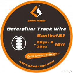 GeekVape Kanthal A1 Caterpillar Track Wire - 10ft