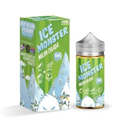 Flawless & Drip More Ice Monster Melon Colada BY JAM MONSTER 120ml. eclshop.dk