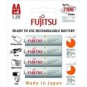 Fujitsu genopladelige AA batterier, 1900mAH 4 STK