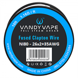 Vandy Vape Fused Clapton Wire Ni80