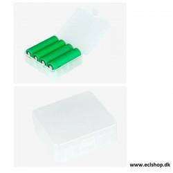 Batterier Batteri boks til 4 stk 18650 eller 2 stk 26650 eclshop.dk