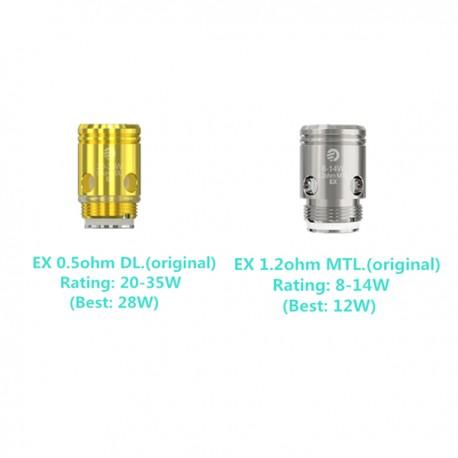 Coils Joyetech EX coil til Exceed, 5pak eclshop.dk