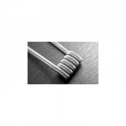 Staggered Fused Clapton Coil Sæt, SS316 - 0.18oHm By Coilology