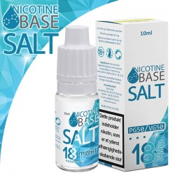 Nikotin baser & Kits Nic Salt 18mg. base, 10ml. eclshop.dk