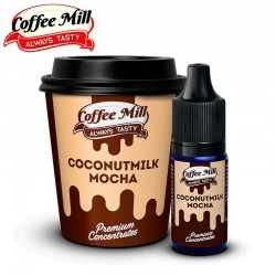 Aromazon, Ice Cream Man & Coffee Mill Coconutmilk - Coffee Mill - 10ml. eclshop.dk