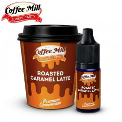 Aromazon, Chill Pill & Coffee Mill Roasted Caramel Latte - Coffee Mill - 10ml. eclshop.dk