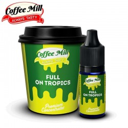 Aromazon, Chill Pill & Coffee Mill Full On Tropics - Coffee Mill - 10ml. eclshop.dk