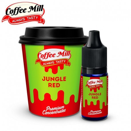 Aromazon, Chill Pill & Coffee Mill Jungle Red - Coffee Mill - 10ml. eclshop.dk