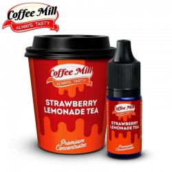 Aromazon, Ice Cream Man & Coffee Mill Strawberry Lemonade Tea - Coffee Mill - 10ml. eclshop.dk