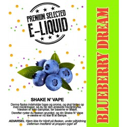 ECL Premium Selected Blueberry Dream - ECL Blend 30ml. eclshop.dk